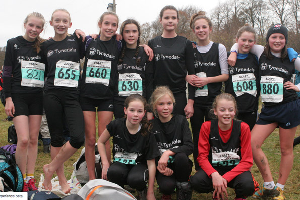 U13 girls Wallington